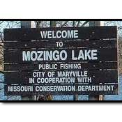 Mozingo Lake Park Sign